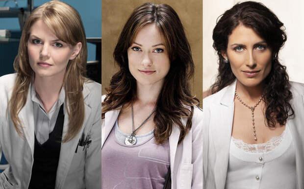 Слева направо: доктор Кэмерон, доктор Хедли и доктор Кадди