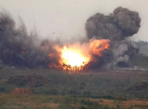 Сильный взрыв прогремел в Донецке
