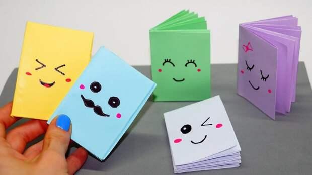 Как сделать красивый блокнот: интересные идеи, необходимые материалы и порядок выполнения работы
