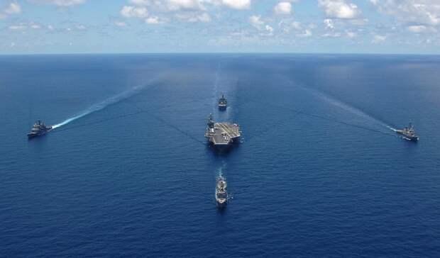 ВМФ Украины пытался перехватить замеченные в Ростове суда Каспийской флотилии
