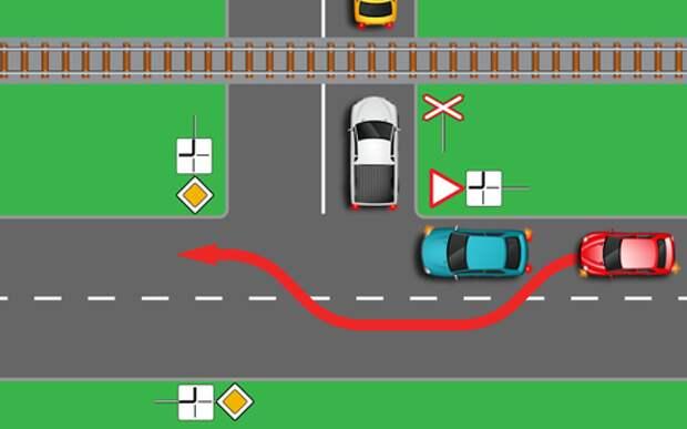 Ловушка ДПС на переезде: это важно знать (тест)