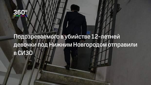 Подозреваемого в убийстве 12-летней девочки под Нижним Новгородом отправили в СИЗО