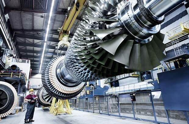 Газовая турбина ГТБМ