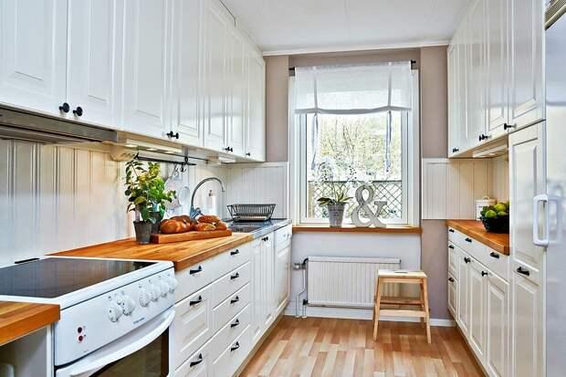6 вариантов планировки кухонь