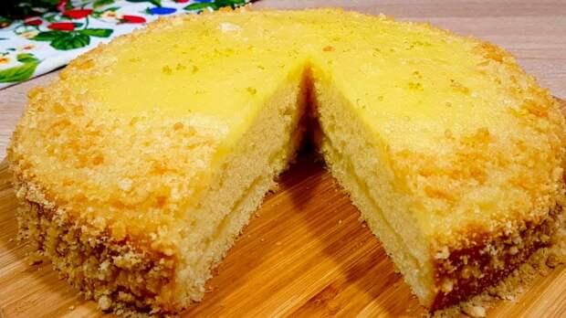 Пирог на кефире – «палочка выручалочка».