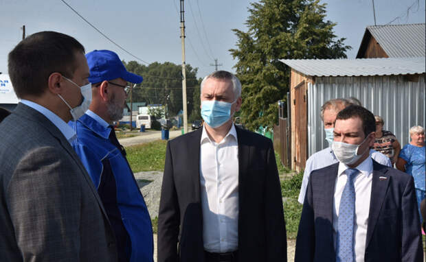 Андрей Травников: газификация ТОСЭР «Горный» открывает новые возможности для инвесторов