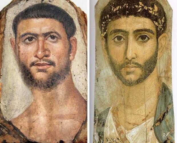 Фаюмские портреты: как на самом деле выглядели люди, жившие 2000 лет назад