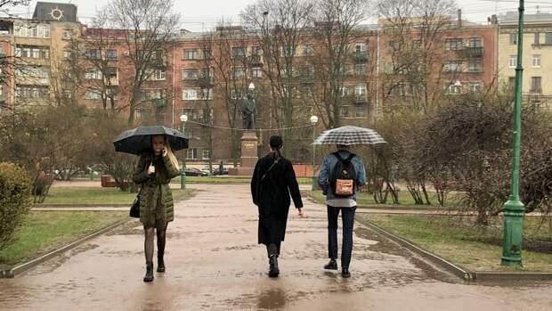 Ливни и грозы ожидаются в Ленинградской области 16 мая
