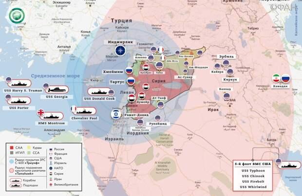 «Все это был блеф»: на Украине поняли, зачем США нанесли удар по Сирии