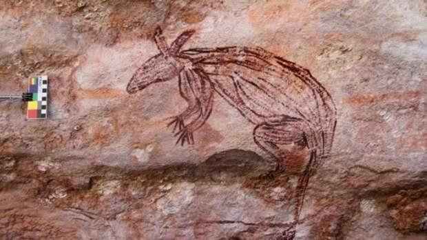 В Австралии обнаружили неизвестные науке наскальные рисунки
