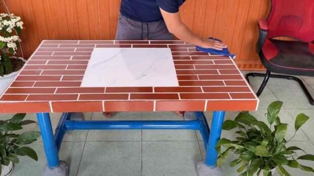 Как сделать столик на дачу
