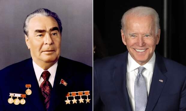 Джо Байдена сочли американским Брежневым: aizen_tt — LiveJournal
