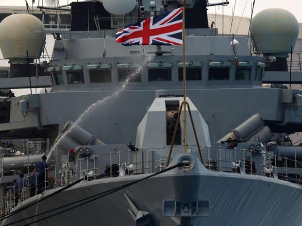 Украина заручилась «поддержкой» британского флота в Черном море