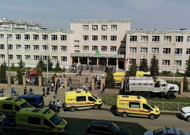 Отец стрелявшего в казанской гимназии Галявиева отказался комментировать поступок сына