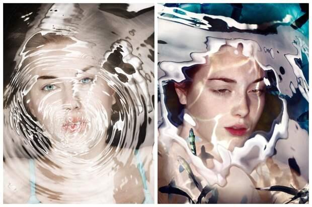 Сама женственность: подводные портреты девушек от студии Staudinger+Franke