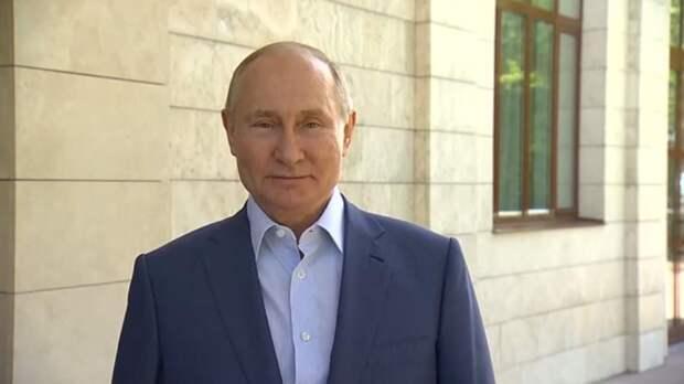 Путин поприветствовал участников Международных образовательных чтений