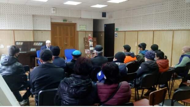 В Марфине прошла встреча с председателем Союза Исламских Организаций