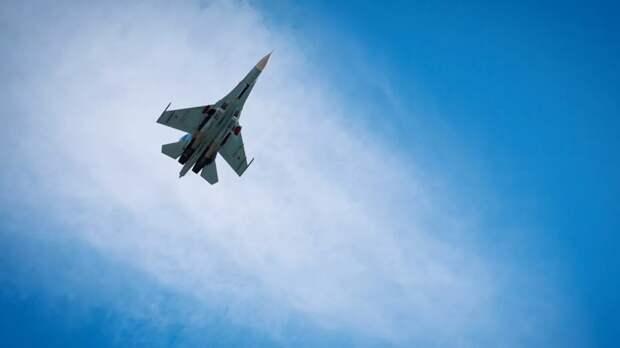 Российский Су-27 перехватил над Чёрным морем три самолёта ВВС Франции