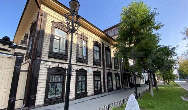 В Тюмени продают 100-летний дом оценщика Сергея Бровцина за 20 млн рублей