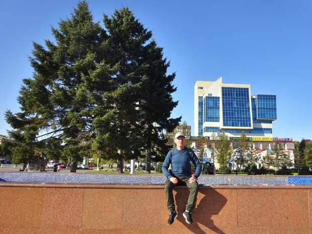 Осенний Уссурийск 2020. Фотопрогулка. От парка до вокзала