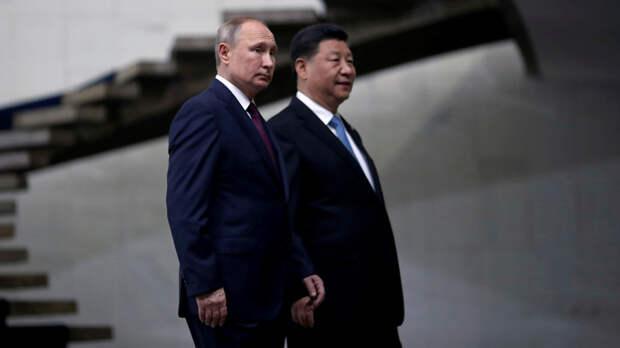 Китай поддерживает Россию