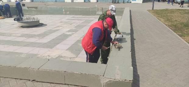 В Тамбове начали готовить фонтаны к открытию сезона