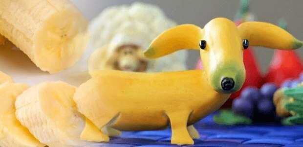 Бананыш по имени Гав. / Фото: