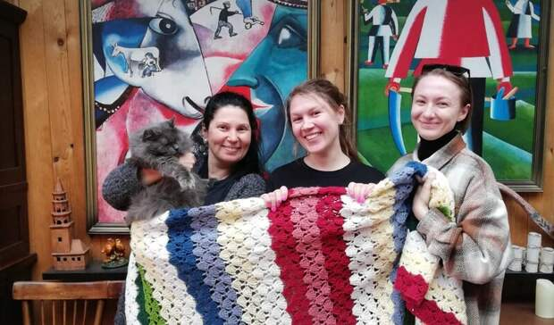 Всем тепло: международный День вязания напублике прошел вусадьбе Земкен вБыньгах