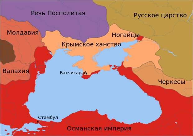 Литовский Тракай и Крымское ханство