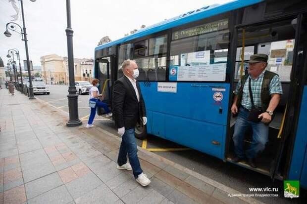 Во Владивостоке изменилась схема движения автобусов