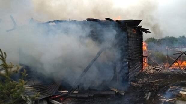Ставропольский дружинник бросился в горящий дом ради спасения мужчины