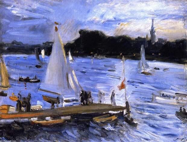 Немецкий художник-импрессионист Макс Слефогт ( Max Slevogt, 1868 - 1932)