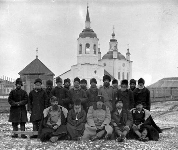 Насельники Туруханского монастыря, 1910-1916 г.| Источник: naov.ru