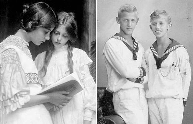 Даешь молодежь: как выглядели подростки из разных стран 100 летназад