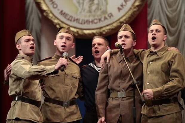 В Военно-медицинской академии состоялся торжественный концерт, посвященный Дню Победы