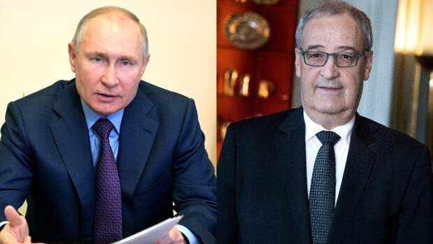 Пармелен поделился впечатлениями от общения с Путиным
