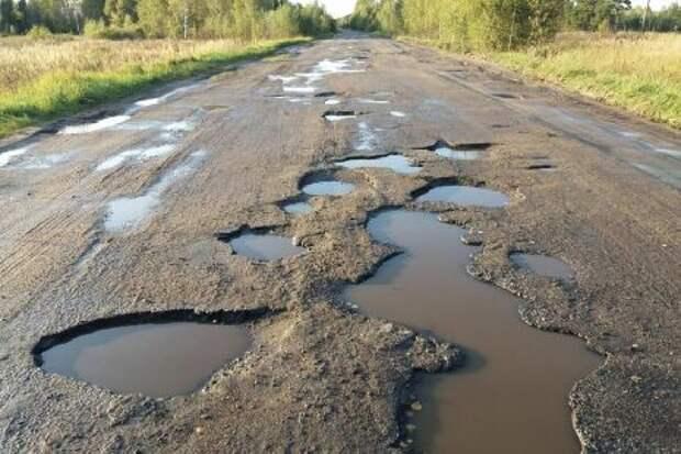 В Тамбовском районе дороги не соответствуют стандартам