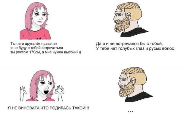 Приколы и мемы про феминисток
