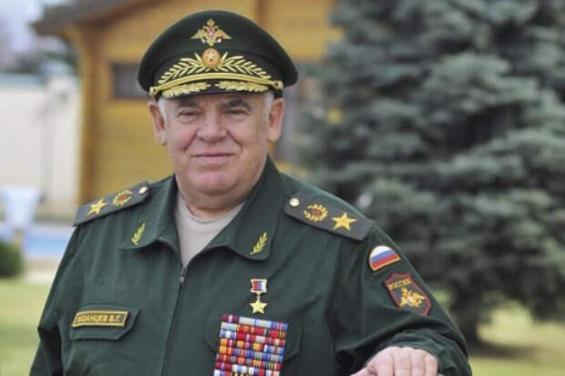 Генерал Казанцев, который собственно группировкой и командовал