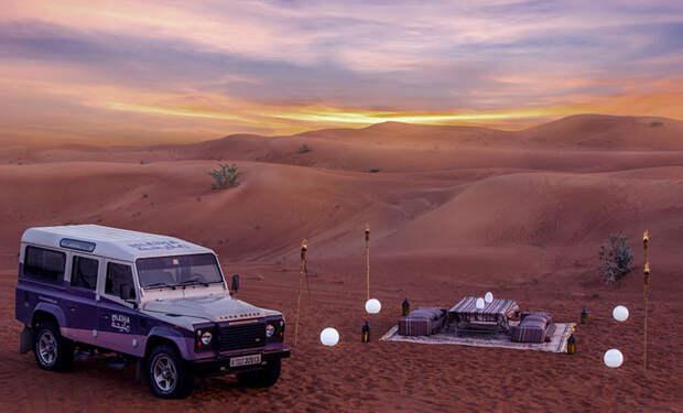Кайтинг, сэндбординг и закаты в горах: самые необычные ретриты Объединенных Арабских Эмиратов