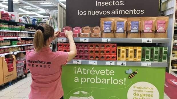 Продукты с насекомыми. \ Фото: espanarusa.com.