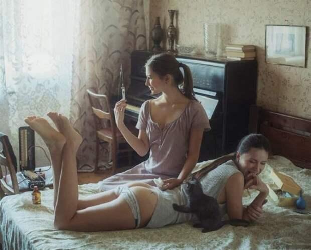 Смесь эротики и невинности. 40 невероятно чувственных снимков талантливого украинского фотографа.