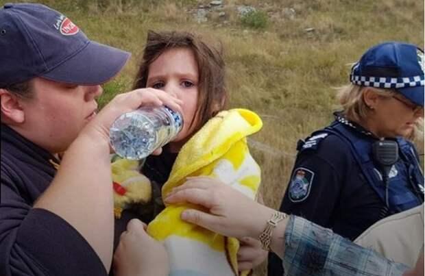Девочка и спасатели