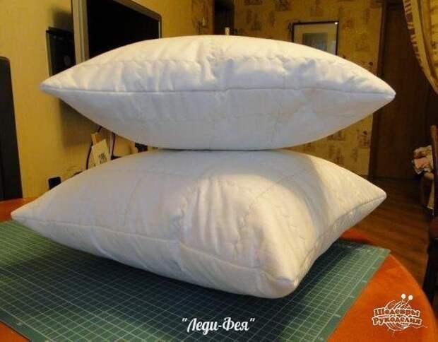 Идеальная подушка своими руками 0