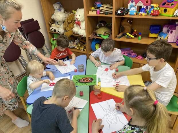 В центре «Ярославский» состоялось развивающее занятие для детей и подростков