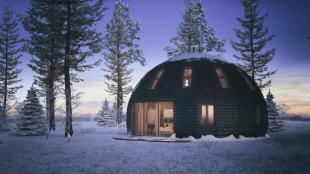 Скайдом: купольные дома из России (17 фото)