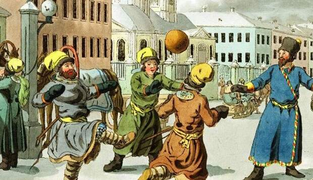 Древнерусский «американский футбол»: какая игра была популярна у новгородцев