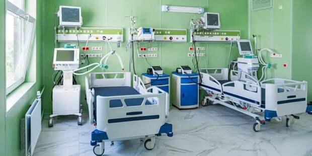 Собянин рассказал о ходе строительства II очереди больницы в Коммунарке Фото: М. Мишин mos.ru