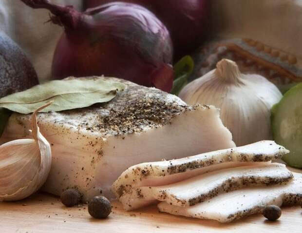Сало соленое еда, интересное, кулинария, полезное, рецепты, сало