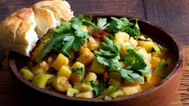Готовим овощной чахохбили— пошаговый рецепт сфото